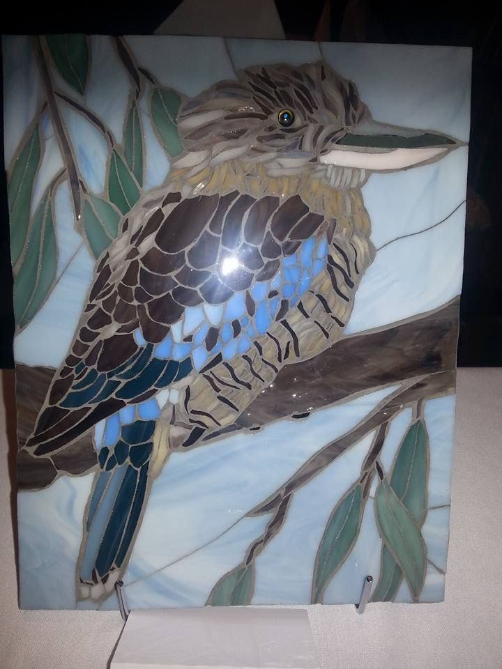 1000 images about Kookaburra on Pinterest  Ceramics Galleries and Stained glass birds