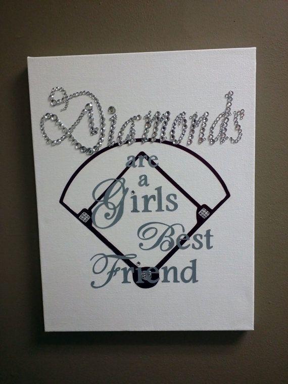 Girl Softball Card Valentine