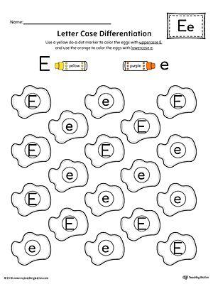 Best 25+ Letter e worksheets ideas on Pinterest