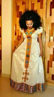 ethipian clothe art