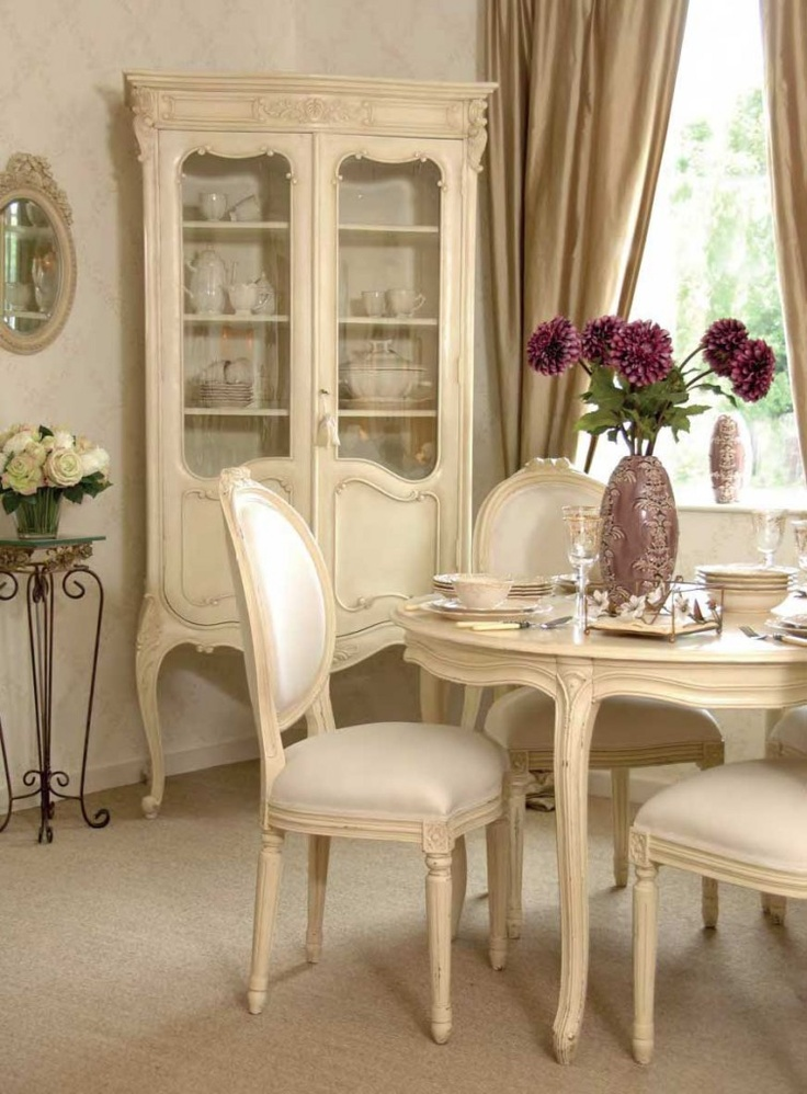 French country dining room  Dining Room  Pinterest