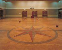 Cork floor design (mandela/om) | Yoga Studio | Pinterest ...