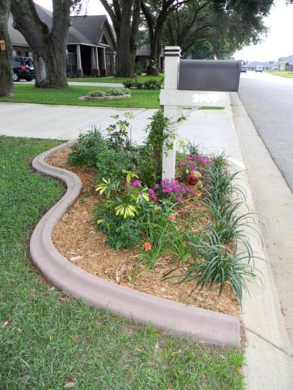 mailbox landscaping ideas