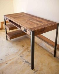 25+ best ideas about Wooden Desk on Pinterest