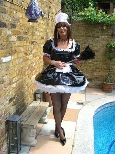 Oh yes I think sissy maid just might accidentally fall into the pool Maybe I will ask one of