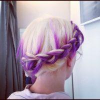 Best 20+ Purple Braids ideas on Pinterest | Colored hair ...