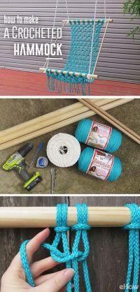 25+ best ideas about Homemade hammock on Pinterest ...