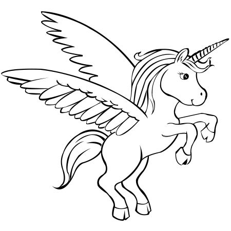 Paper Time: Step-by-step Instructions to Draw Unicorns