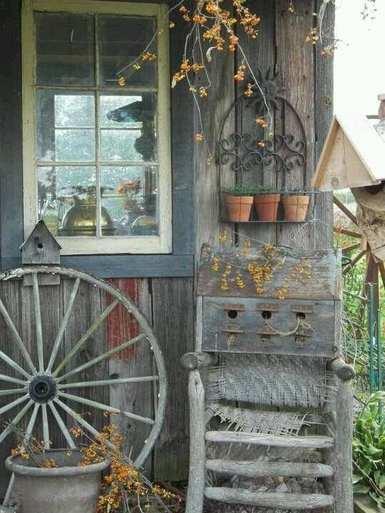 wagon wheel chair oak pressed back kitchen chairs 605 best images about primitive front porches on pinterest