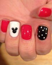 ideas disney nails