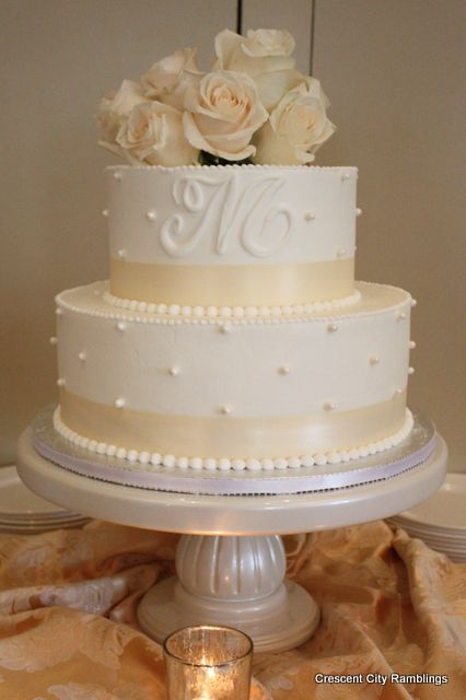 My Bridal Shower cake from Ambrosia Bakery in Baton Rouge
