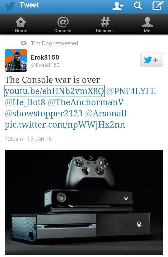 Erok8150 Erok8150 The Console War Is Over YoutubeehHNb2vmX8Q PNF4LYFE HeBot8
