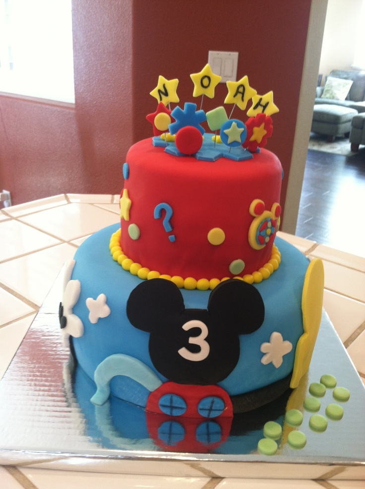 Mickey Mouse Clubhouse Cake Two Girls Amp A Cake