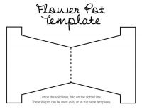 DIY Revisited: Mother's Day flower pot with template ...