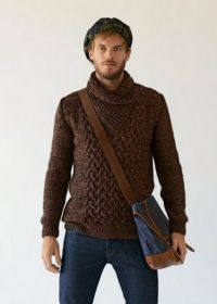 17 Best images about Knit for men on Pinterest | Cable ...