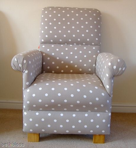 Details about Ikea Evalena Fabric Adult Chair Armchair