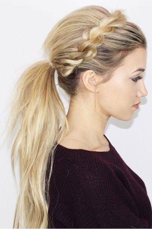 25 Best Ideas About Ponytail Hairstyles On Pinterest Easy