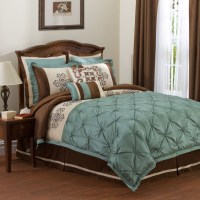 teal/brown bedding | For the Home | Pinterest | Grey ...