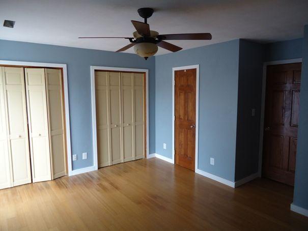 Behr Blue Fox  On the Walls  Pinterest  Master bedrooms