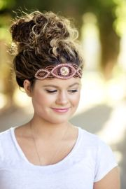 quick & easy headband hairstyles