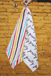 We made scarves!: Painted Scarfs, Diy Scarfs, Craft, Cute ...