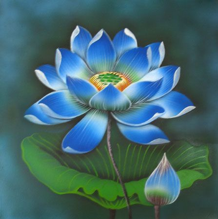 Best 25+ Lotus Flower Paintings Ideas On Pinterest Lotus