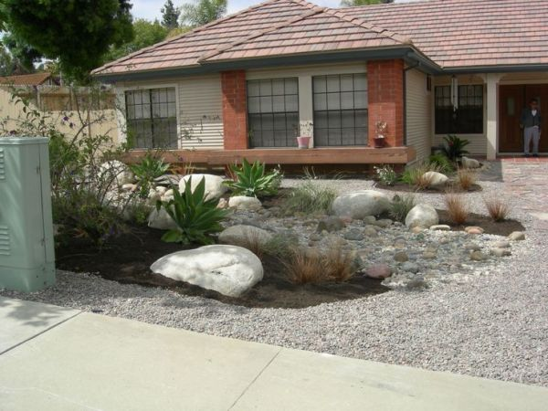front yard xeriscape ideas