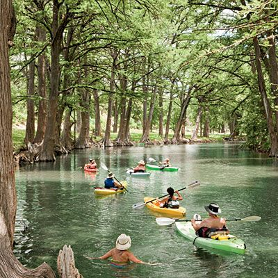 10 hidden adventures in the Texas hill country.: