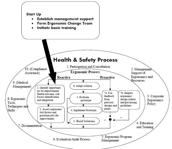 program ergonomi/intervensi ergonomi di perusahaan