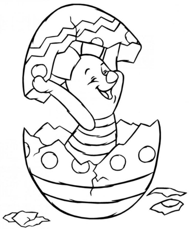 Osterhase Zahlenbild Zu Ostern