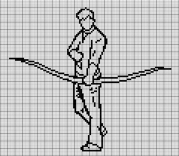 89 best images about Crazy Cross-Stitch Grids!! on