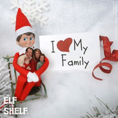 Family Embrace.png   The Elf on the Shelf: