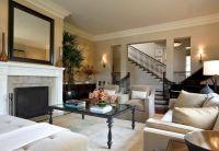Sunken Living Room, Crown molding, | Living/dining room ...
