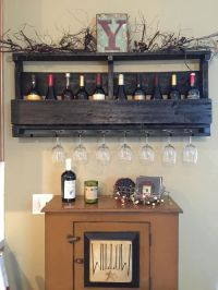 25+ best ideas about Wine glass holder on Pinterest