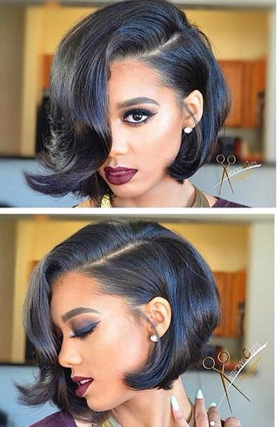 25 Best Ideas About Black Bob Hairstyles On Pinterest Black