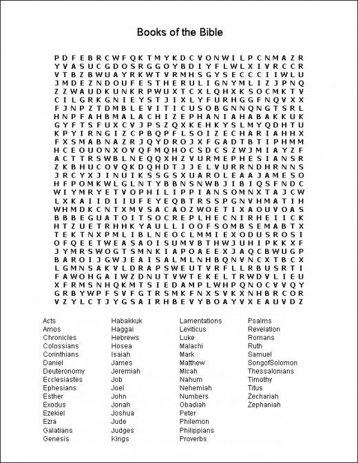 1000+ images about bible puzzles/quiz/word search etc on