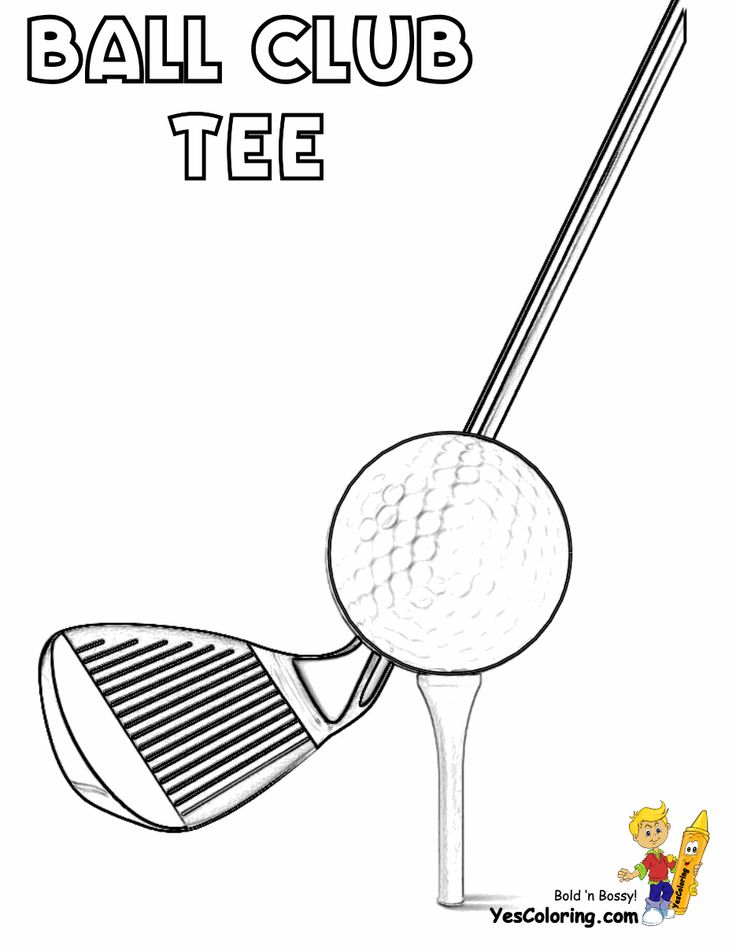 41 best images about Two-Fisted Golf Coloring Pages on