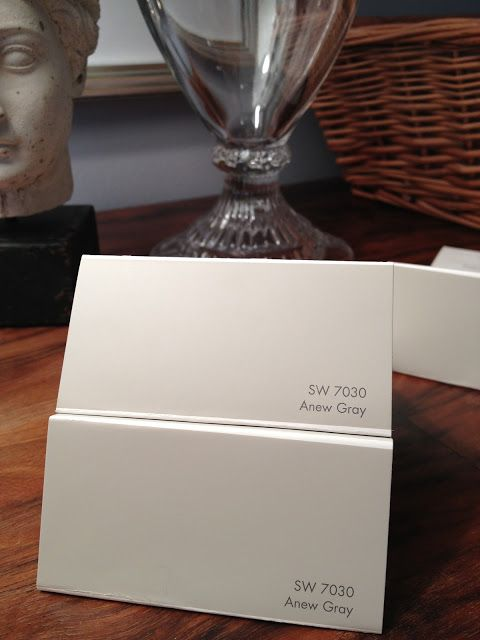 Sherwin Williams Anew Gray SW Has Some Gorgeous Grays And