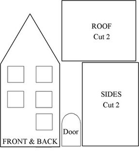 10+ images about Gingerbread House Templates on Pinterest