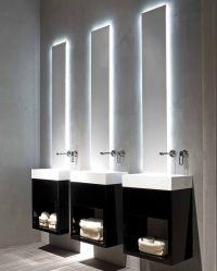 Black and white modern minimalist bathroom Lavamani ...