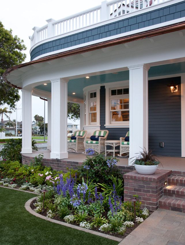 25 Best Ideas About Front Porch Landscape On Pinterest Front