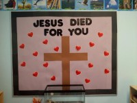 Lenten Bulletin Board | Sunday School ideas | Pinterest ...