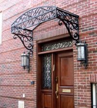 168 best images about wrought iron canopy for doors and ...