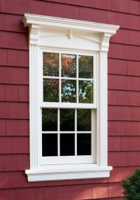 Window trims, Window and Exterior window trims on Pinterest
