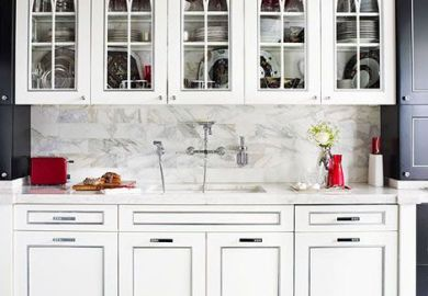 Kitchen Cabinets Glass Front