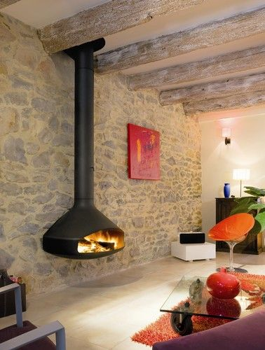 25 best Contemporary Fireplaces ideas on Pinterest  Penthouse tv Modern fireplace decor and