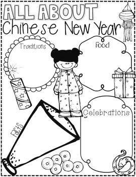 Chinese new years, Literacy activities and Chinese on