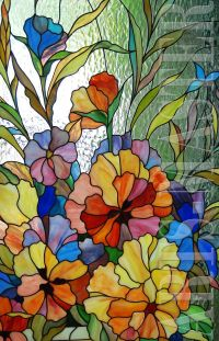 25+ best ideas about Stained Glass Flowers on Pinterest ...