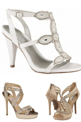 5 tendencias para el 2013 en zapatos de novia - Jimmy Choo, Keneth Cole y Zihi Soho