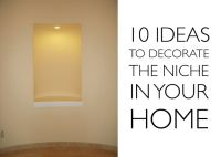 Large Wall Niche Decorating Ideas